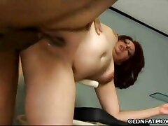 Fat Mature Latina Grinds On a Cock