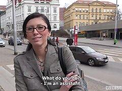Czech Streets - Mature Alfresco