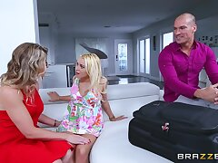 Inappropriate sexual awakening for Cory Run after and Marsha May