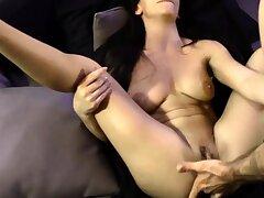 Beautiful brunette webcam cookie ID card her parsimonious pussy