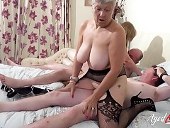 Two Busty British Matures Fuck One Unearth