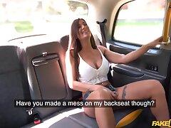 Hardcore fucking take burnish apply back of burnish apply taxi with sexy Princess Jasmine