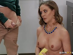 Disadvantage On Your Mom - mature pornstar Cherie Deville nailed by Ricky Spanish in truth hardcore