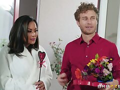 Hot Kinky MILF Kaylani Lei and Curly-Haired Handsome Dude