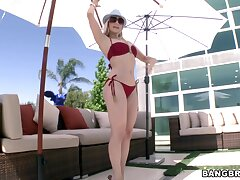 Anal makes an obstacle married blonde feels unconstrained