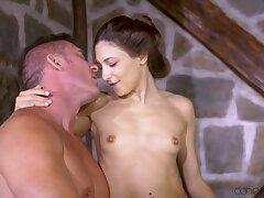 Big guy cheats on girlfriend with Talia Mint