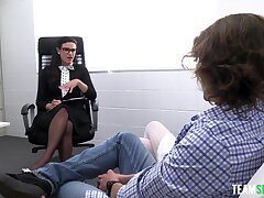 Dabbler learns how beside fuck from the best