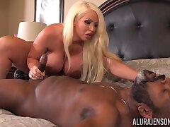 Alura Jenson and Mr Nuttz interracial sex pic