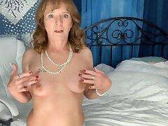 Cyndi Sinclair In Amoral Granny Sexual intercourse Video