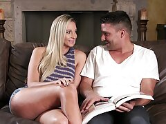 Heart of hearts orgasms for teen blonde with insane ass