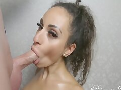 Exotic Babe Gets Horny At A Photo Shoot,sucks Dig up And Lets Cum On Will not hear of Face P