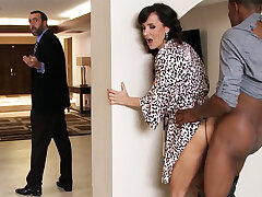 Spouse returned anon housewife tail find Obese BLACK COCK
