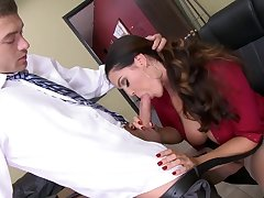 Stunning office XXX moments along busty Alison Tyler