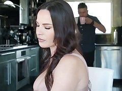 Killing hot Latin lesbian Alina Lopez seduces big tittied boss's wife