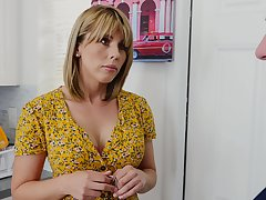 Horny friend's ma dominating over hungover lady's man