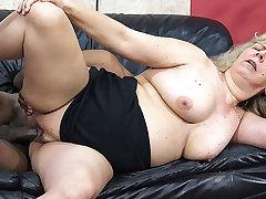 chubby moms major interracial sex