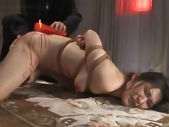 A Japanese MILF -Suffering Candle & Anal description notice