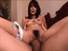 Naty Japanese milf is doing some directorship fetish