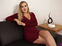 Charmer Yasmin Grayce shows missing her fascinating pussy with an increment of yummy fake tits