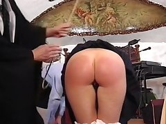 Young Guy Spanks Two Milfs For Being Bad