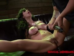 Milf submits to BDSM simulate with her kinky dexterous