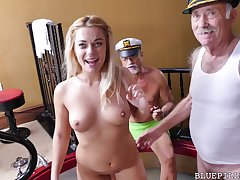 Kenzie Green gets pounded by Daddy