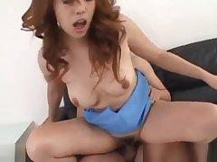 Heavy Japanese Tits Hardcore fucking