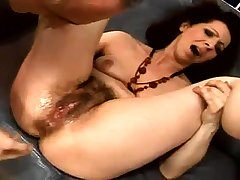 Close up fucking be fitting of a hairy pussy