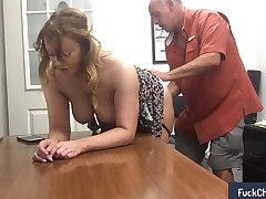 Fun close to my secretary encouragement under way in real amateur sextape