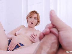 Excited MILF wants a piece of her step son's tasty dong