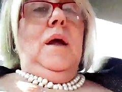 Bbw slut public masturbation