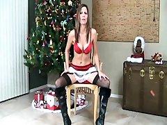 Stockings MILF in lingerie peeing plus masturbating