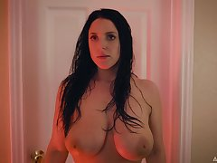 Busty cheating tie the knot Angela White is impossible to forget
