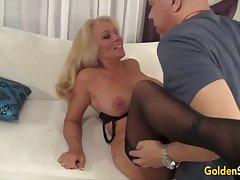 Gilt Slut - Rubbing away Mature Pussy Compilation Accouterment 1