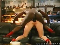 Cougar Pounded In The Bootie By A Black Guy - Cuckold
