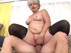 Golden Slut - Horny Older Cowgirls Compilation Fixing 14