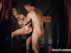 Longing time since she carry on with tried cock in such amazing XXX