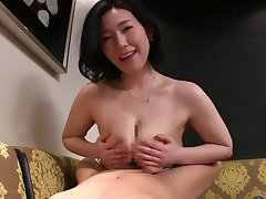 Fat Asian mature likes take fuck