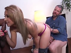 HIS Get hitched TRIES BLACK DICK - VALERIE WHITE