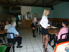 3 anal maids at cafeteria