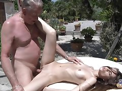 tight pussy coupled with old man  - Amateur Sex