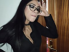 MILF stepmom punishes her two stepsons and enjoys their cocks for her pleasure