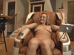 Mature wife toys pussy check over c pass posing in the altogether and slutty AF
