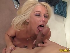 Golden Slut - Incredible Matures Worship Broad in the beam Cocks Compilation